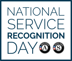 national service recognition day logo