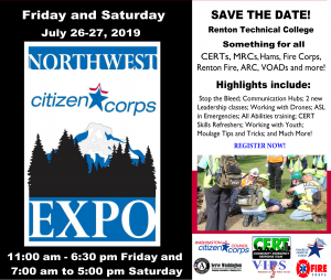 2019 nw citizen corps expo flyer
