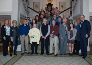 photo of 2017 recipients of Governor's Volunteer Service Awards
