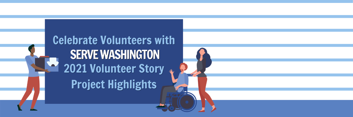 image of volunteer story project highlights